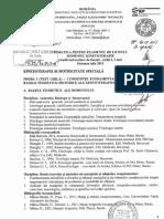 Tematica examen licenţă