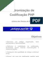 Padrão de Codificação PHP
