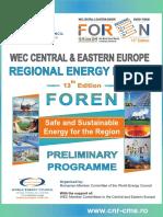 Preliminary Programme FOREN 2016