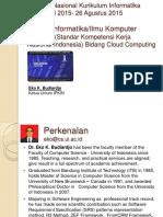 1. Seminar Nasional Kurikulum Informatika APTIKOM 2015-26 Agustus 2015 Ver 1.1