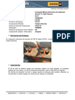 Informe Cadena Derecha Desplazada TO19 6-5-18