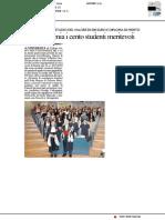 Stocchi premia i cento studenti meritevoli - Il Resto del Carlino del 20 maggio 2018