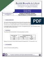 110 Sand ASTM C778!20!30 Et Graded En