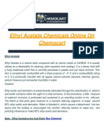 Buy Chemical of Ethyl Acetate on Chemocart
