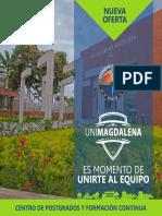 Nueva Oferta de Posgrados Universidad del Magdalena