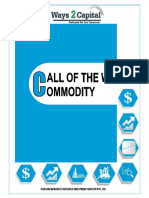 Commodity Research Report 21 May 2018 Ways2Capital