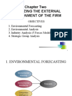 Ch 2 Analyzing the External Environment of the Firm