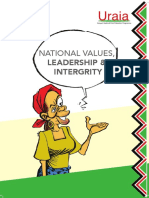 National Values BOOKLET