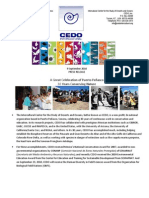 Press Release - CEDO 30th Anniversary