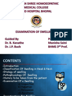 Examination of Swelling