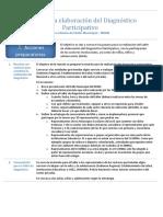 Guía Para La Elaboración Del Diagnóstico Participativo