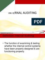 CAC 4203 Internal Auditing 1