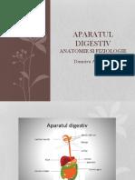 Aparatul Digestiv ,Anatomia Si Fiziologia
