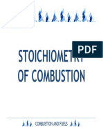Stoichiometry of Combustion