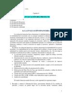 Cap 6. La Evaluación Del Proyecto