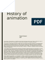 history of annimation