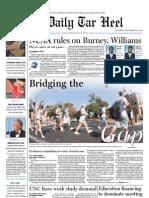 The Daily Tar Heel for September 23, 2010