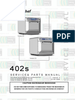 Merrychef 402s Manual