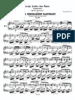 Mendelssohn Bartholdy Felix Romances Sans Paroles Complet 62534