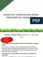 5. Troubleshooting Aplikasi SIMAK SAIBA