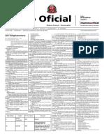 Lei Complementar 1.322 - 15-05-18 - Plano de Carreiras e Classes ARSESP