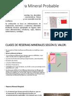 Reserva Mineral Probable