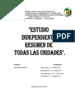 Estudio Independiente de Todos Los Objetivos