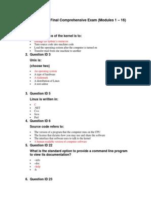 Linux Source Code Pdf