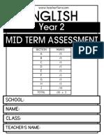Year 2 Mid Term Assessment 2018 Blog