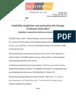 HealthWay Press Release