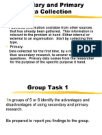 Primary vs. Secondary Research IG