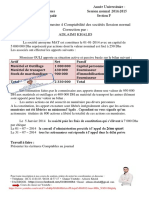 Examen Compta Des Société 2014-2015