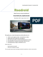 Roadroid User Guide - Version 2 Pro