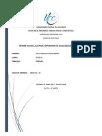 Informe de Quimica Quitumbe