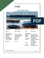 SP Deck Cargo Barge 270 Feet