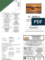 St Andrews Bulletin 052018