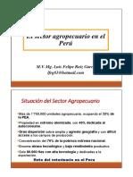 1_El Sector Agropecuario en El Peru