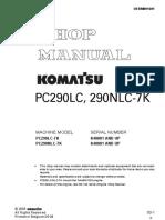 Carte Tehnica Komatsu PC 290