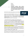Demanda de Amparo Contra Rs. Firme. VITAL JÁUREGUI