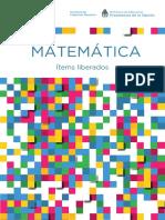 ItemsLiberados Pisa Matematica Secundaria 5 6