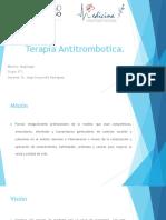 Terapia Antitrombotica