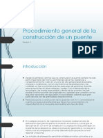 Procedimiento General de La Construcción de Un Puente