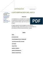 Contaminacion Del Agua - Contaminacion