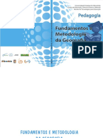 Fascículo - Fundamentos e Metodologia Do Ensino de Geografia