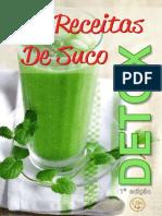 Sucos Detox 1ª Edição