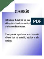 Corrosão de Dutos
