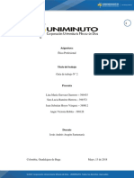 Actividad 15 PDF ETICA PROFESIONAL