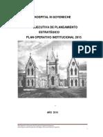 Plan Operativo Hg 2015