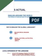 Unit 1 - English Around the World, Part 1