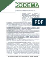 RECOMENDAÇÃO NORMATIVA Nº 0004-2014, de 15 de Abril de 2014 - Instrui e recomenda cumprimento da legislação ambiental à SUPRAM-NM no município.pdf